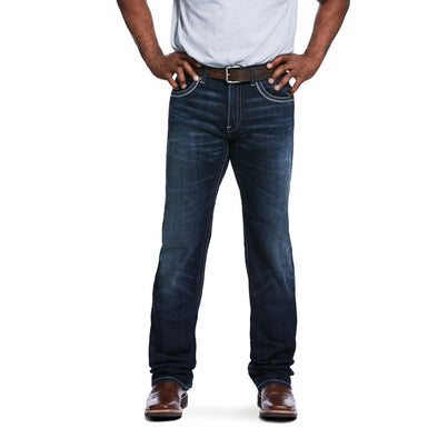 Men's M5 Slim Stretch Coltrane Stackable Straight Leg Jeans in Nightingale 10032088 Ariat