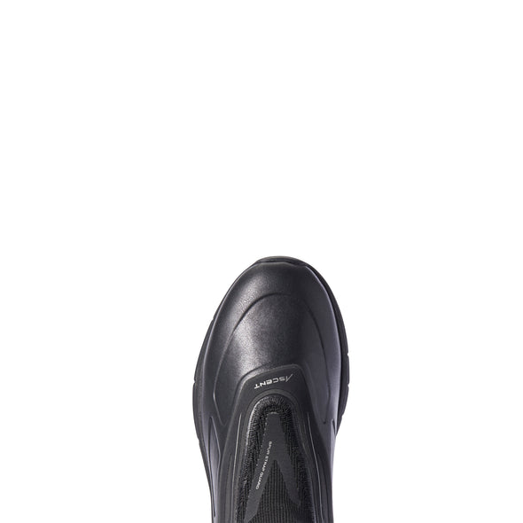Women's Ascent Paddock Boots in Black, 10031592 Ariat toe
