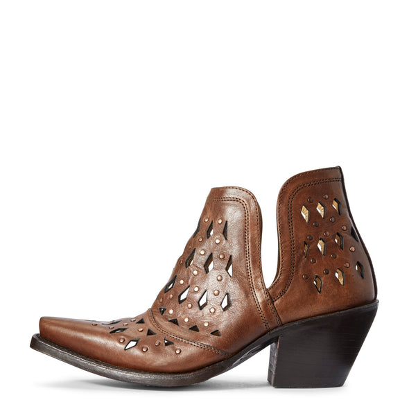Ariat Women's Dixon Studded Amber 10031500 side