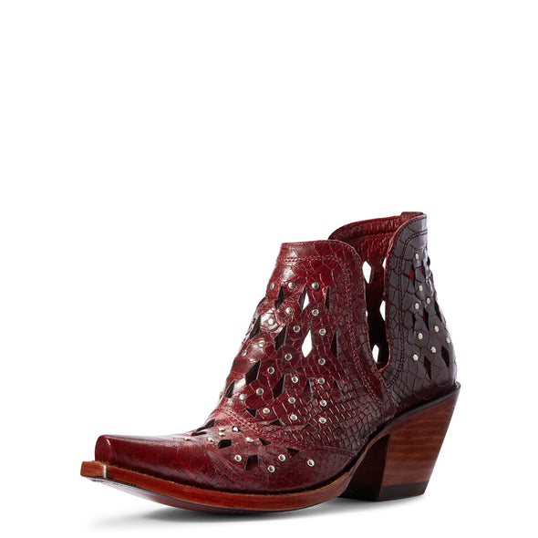 Ariat Women's Dixon Studded Red Snake 10031504