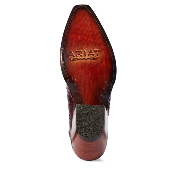 Ariat Women's Dixon Studded Red Snake 10031504 outsole