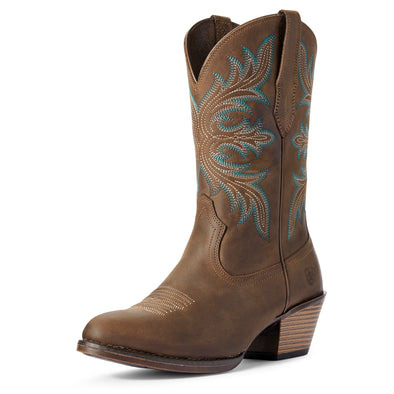 Ariat Women's Runaway Distressed Brown 10031624