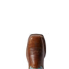 Women's Circuit Savanna Western Boots in Chestnut Brown 10031633 Ariat toe
