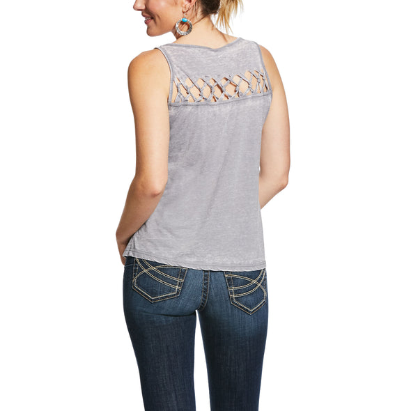 Women's Freedom Tank Top in Heather Grey, 10031837 Ariat