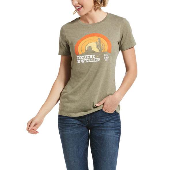 Ariat Desert Dweller Tee Olive Heather 10032520