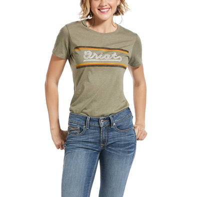 Ariat Serape Tee Olive Heather 10032568