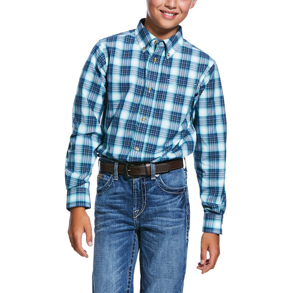 Kid's Pro Series Roselle Classic Fit Shirt Cotton, 10032057 Ariat