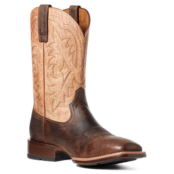 Ariat Men's Ryden Ultra Dark Roast / Weathered Pebble 10035927 medial