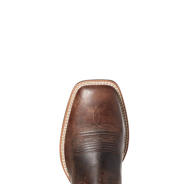 Ariat Men's Ryden Ultra Dark Roast / Weathered Pebble 10035927 toe
