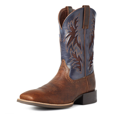 Ariat Men's Sport Cool VentTEK™ Bar Top Bar Top Brown / Arizona Sky 10035928