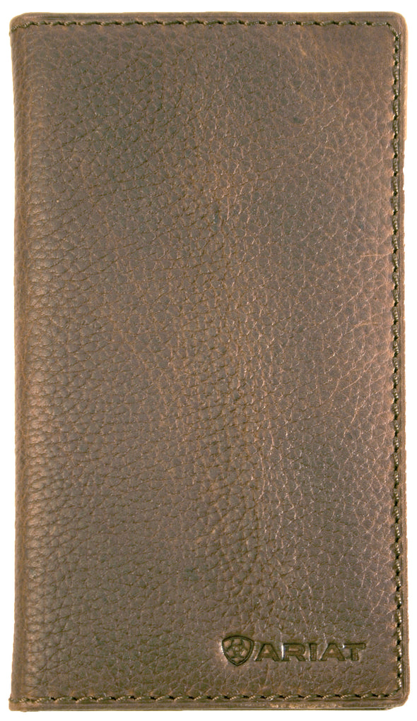 Ariat Rodeo Wallet - Logo Distressed Brown WLT1105A