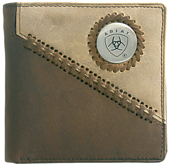 Ariat Bi-fold Wallet - Two Toned Distressed WLT2100A