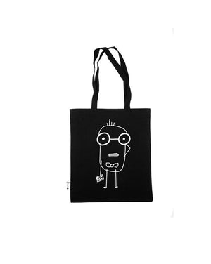 Quipster Nerd Cotton Bag