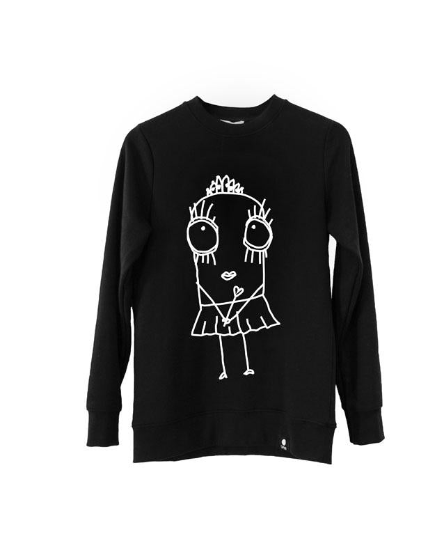 Quipster Princess Sweatshirt