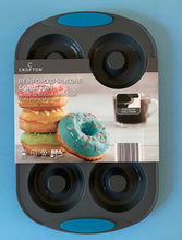 Load image into Gallery viewer, Reinforced silicone donut pan
