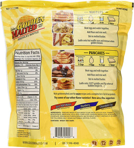 Golden Malted Waffle Mix - Original