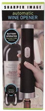 Load image into Gallery viewer, Sharper Image Automatic Wine Opener - with bonus Foil Cutter Included