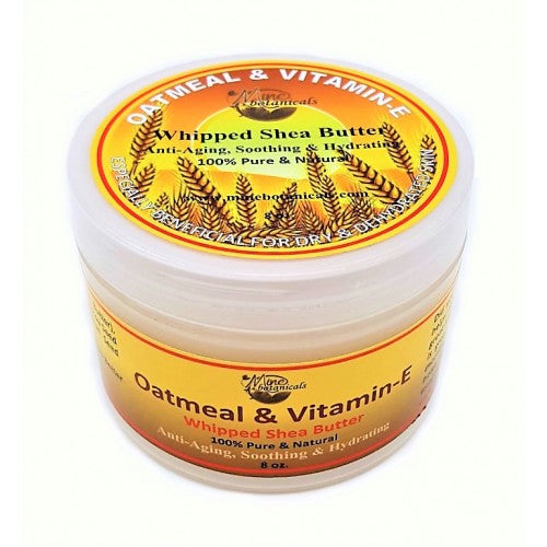 Oatmeal & Vitamin E Whipped Shea Butter