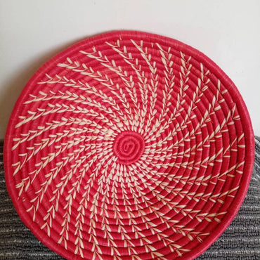 Red Woven Basket