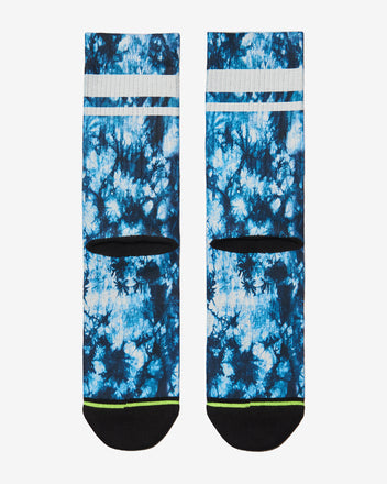 Load image into Gallery viewer, FLINCK sokken blue tie-dye crossfit sports socks back