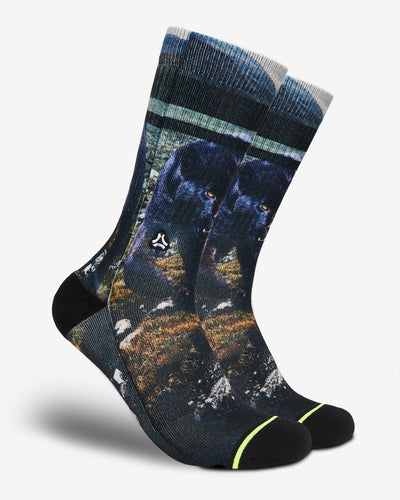 black panther crossfit sports socks men women