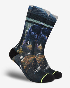 FLINCK sokken black panther crossfit sports socks men women