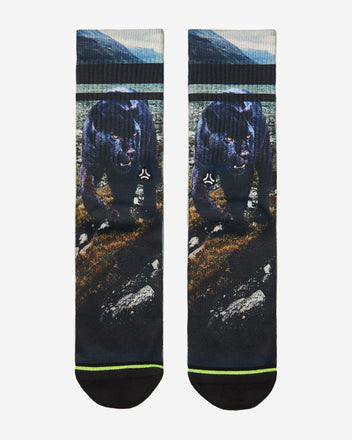 Load image into Gallery viewer, FLINCK sokken black panther crossfit sports socks men women front