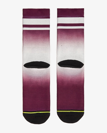 Load image into Gallery viewer, FLINCK dip dye sports socks red back