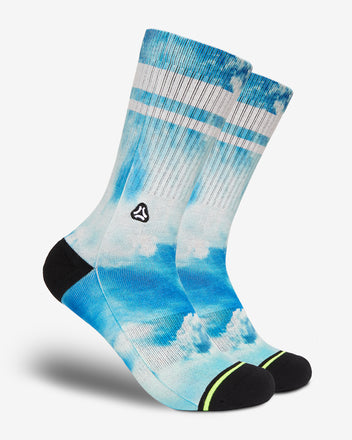 Load image into Gallery viewer, FLINCK sokken blue sky crossfit socks men women