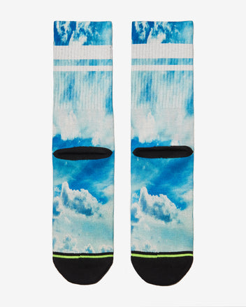 Load image into Gallery viewer, FLINCK sokken blue sky crossfit socks men women back