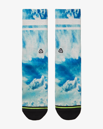 Load image into Gallery viewer, FLINCK sokken blue sky crossfit socks men women front