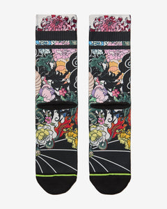 FLINCK sokken Japanese dragon tattoo crossfit sports socks back