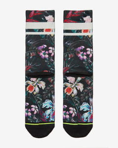 FLINCK sokken jungle flower crossfit sports socks men women back