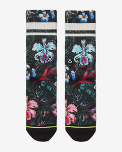 FLINCK sokken jungle flower crossfit sports socks men women front