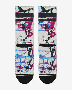 FLINCK sokken paint splatters crossfit sports socks men women back