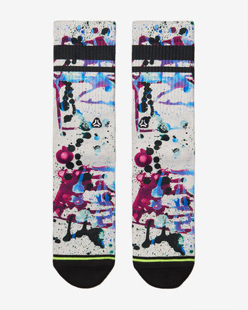 Load image into Gallery viewer, FLINCK sokken paint splatters crossfit sports socks men women front
