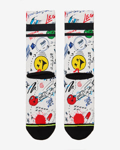 FLINCK sokken graffiti crossfit socks men women back