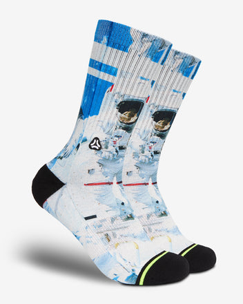 Afbeelding in Gallery-weergave laden, FLINCK sokken space astronaut crossfit sports socks men women