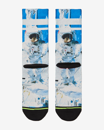 Load image into Gallery viewer, FLINCK sokken space astronaut crossfit sports socks men women back