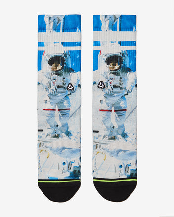 Load image into Gallery viewer, FLINCK sokken space astronaut crossfit sports socks men women front