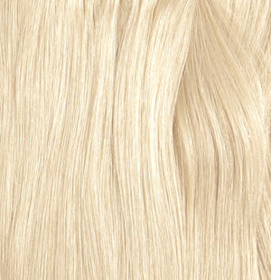 (PHOTOSHOOT DEMO HAIR) POLAR BEAR #90 WHITE BLONDE 20""