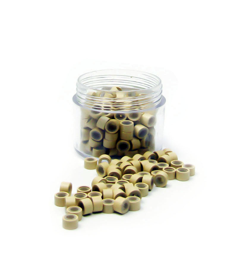 Micro Rings Silicone Lined 200pcs