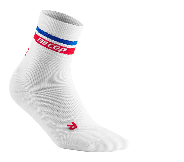 80s Compression Mid Cut Socks for Men