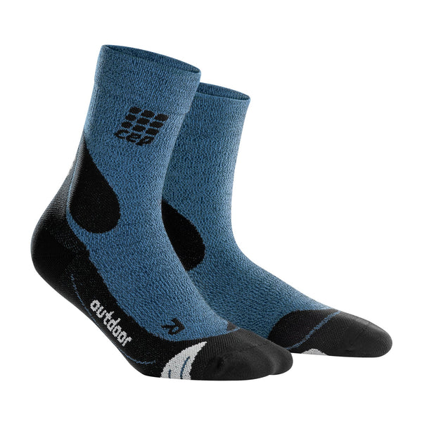 Outdoor Merino Mid-Cut Socks, Men