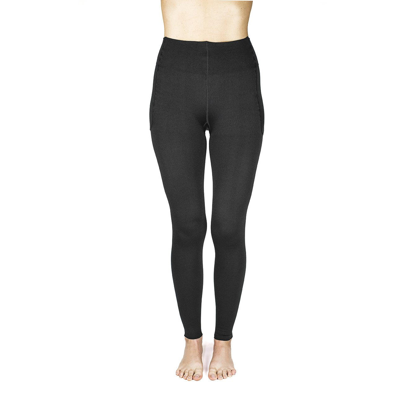 Rejuva Footless Compression Leggings 15-20 mmHg
