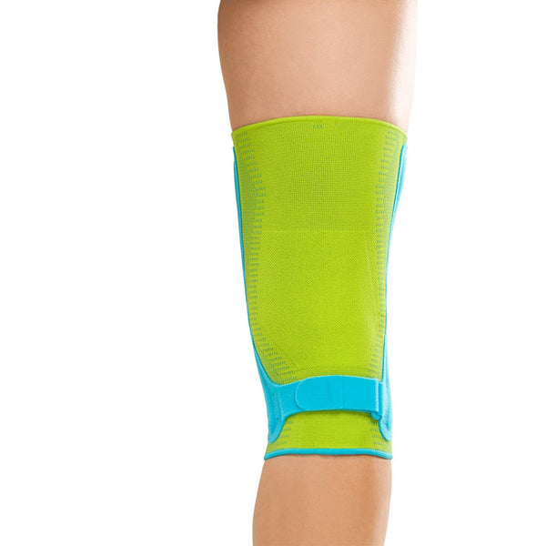 Genumedi PSS features 3-D knit that prevents pinching and bunching behind the knee