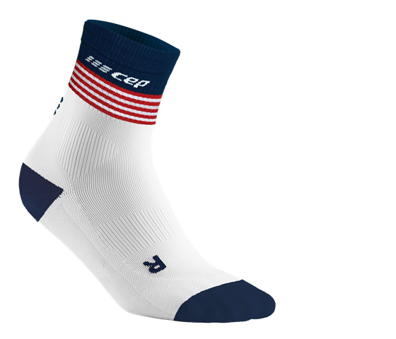 Old Glory Socks Mid Cut, Women