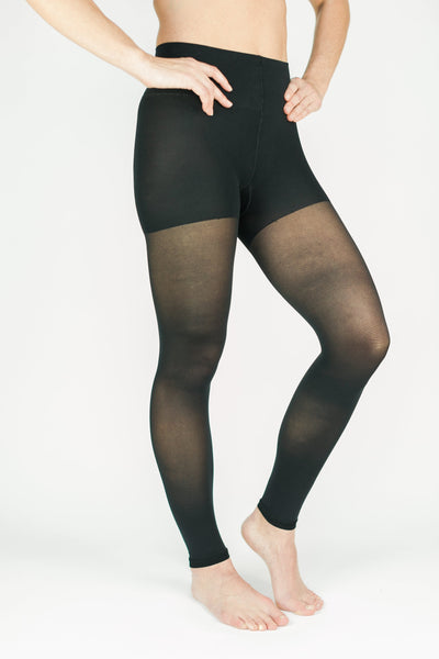 Rejuva Sheer Convertible Compression Leggings 20-30 mmHg