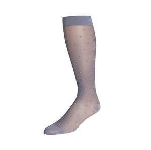 Rejuva Sheer Dot Compression Socks 15-20 mmHg