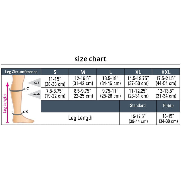 duomed advantage, 20-30 mmHg, Calf High, Closed Toe